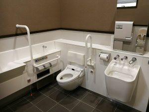 道の駅しもにた身障者用トイレ(改修後)