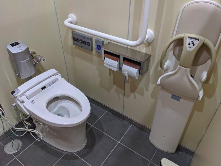 道の駅しもにた・女子トイレ(改修後)